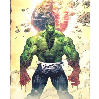 Marvel Comics Super Hero Incredible Hulk Metal Sign Metal Garage -code 0807a Comics