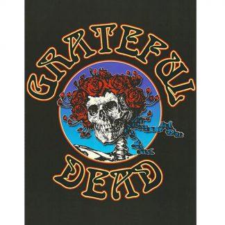 Grateful Dead skeleton rose psychedelic rock metal tin sign b02-Grateful Dead-13 Metal Sign garden wall decorations