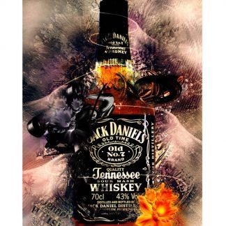 Jack Daniel whiskey club bar metal tin sign b14-Jack Daniel's-14 Beer Wine Liquor bar