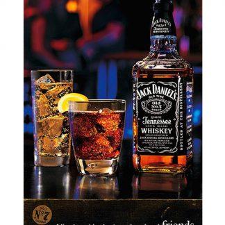 Jack Daniel whiskey club bar metal tin sign b14-Jack Daniel's-15 Beer Wine Liquor bar