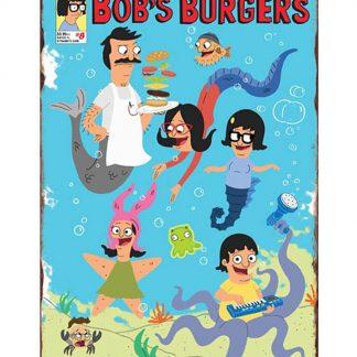 Bob's burgers cartoon movie metal tin sign b16-Bob's burgers-21 Metal Sign Bob's burgers