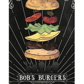 Bob's burgers cartoon movie metal tin sign b17-Bob's burgers-22 Metal Sign Bob's burgers