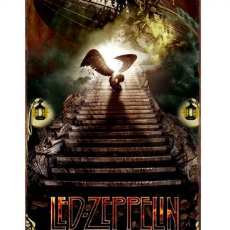 Led Zeppelin rock band metal tin sign b26-led zeppelin -29 Metal Sign cafe pub reproduction