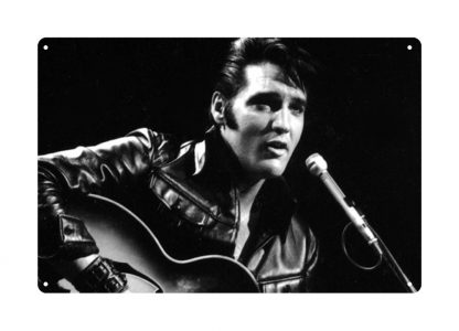 Elvis Presley singing metal tin sign b27-Elvis Presley-23 Metal Sign discount unframed art