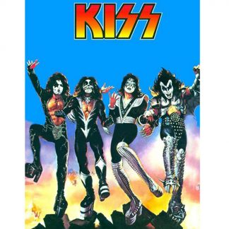 Kiss American rock band metal tin sign b28-Kiss Band-4 Metal Sign American