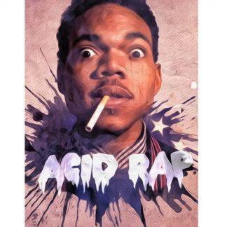 Chance the rapper Acid Rap metal tin sign b30-Chance The Rapper-9 Metal Sign Acid