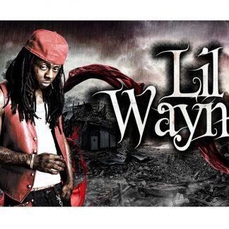 Lil Wayne American rapper singer metal tin sign b30-Lil Wayne-13 Metal Sign American