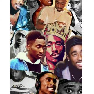 Tupac Amaru Shakur 2pac metal tin sign Metal Sign 2pac
