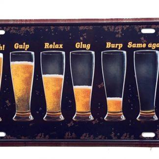 beer club pub bar metal tin sign b52-beer1 (12) Beer Wine Liquor bar