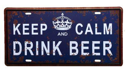 keep calm drink beer metal tin sign b58-beer2 (11) Beer Wine Liquor beer