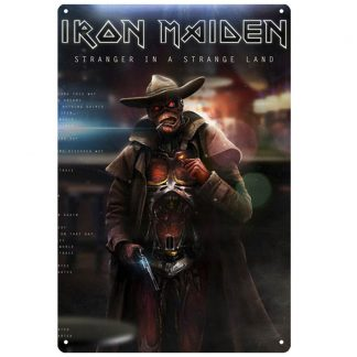 Iron Maiden English heavy metal band tin sign b61-iron maiden-16 Metal Sign contemporary wall art