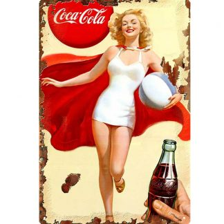 Marilyn Monroe coca cola girl metal sign b71-coca cola girl -1 Food Beverage Cola Coffee Tea coca cola