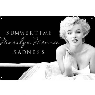 summer time Marilyn Monroe sadness metal sign b71-marilyn monroe-61 Metal Sign garage signs
