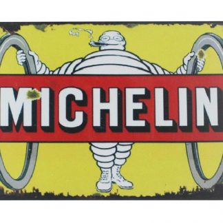 Mechelin Tyre Advertising Wheel tin metal sign 0019a Gas Oil Automotive Advertising