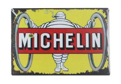 Mechelin Tyre Advertising Wheel tin metal sign 0019a Gas Oil Automotive Advertising