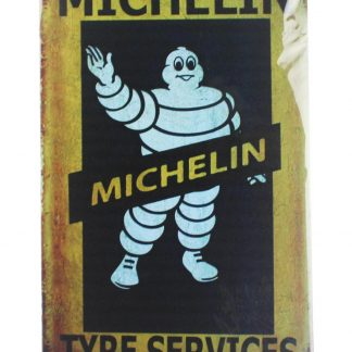 Mechelin Tyre Services tin metal sign 0024a Gas Oil Automotive bar club plaque design