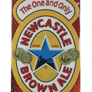 Newcastle Brown Ale tin metal sign 0029a Metal Sign Ale