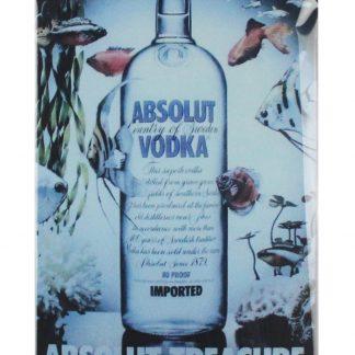 Absolut Vodka Drink Food Beverage tin metal sign 0042a Beer Wine Liquor Absolut