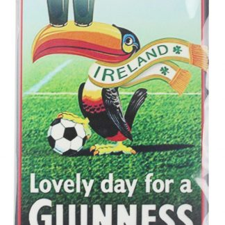 Lovely day for a Guinness tin metal sign 0054a Beer Wine Liquor a