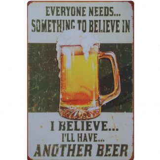 I'll have another beer bar club tin metal sign 0065a Beer Wine Liquor another