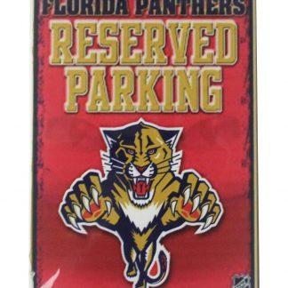 Florida Panthers Reserved Parking tiger tin metal sign 0070a Metal Sign decoration design