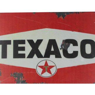 Texaco old vintage tin metal sign 0082a Gas Oil Automotive collectible metal sign