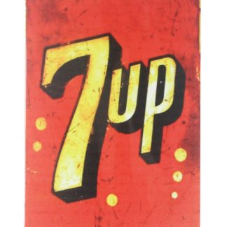 7up vintage tin metal sign 0085a Food Beverage Cola Coffee Tea 7up