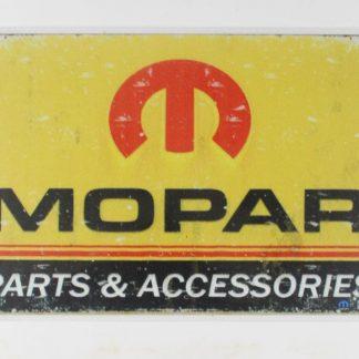 Mopar parts accessories vintage tin metal sign 0086a Metal Sign accessories