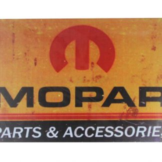 Mopar parts accessories tin metal sign 0096a Metal Sign accessories