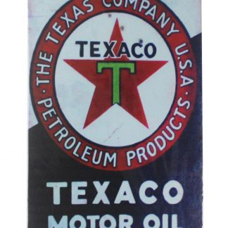 Texaco motor oil tin metal sign 0098a Gas Oil Automotive home decoration home decoration