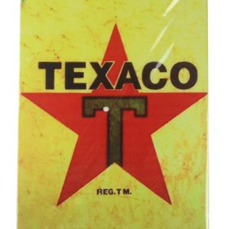 Texaco vintage tin metal sign 0118a Gas Oil Automotive art cafe bar