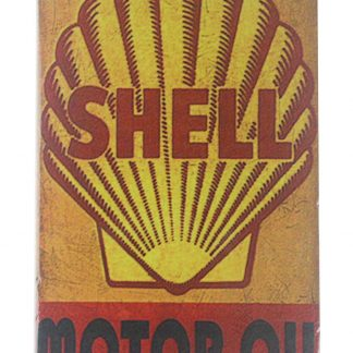 Shell motor oil tin metal sign 0119a Gas Oil Automotive country home decor