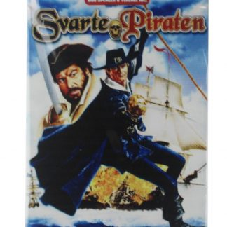 svarte Piraten old movie tin metal sign 0136a Metal Sign decorative home