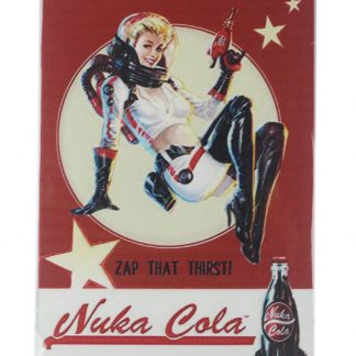 Fallout Nuka Cola girl tin metal sign 0170a Food Beverage Cola Coffee Tea bedroom ideas