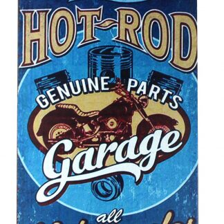 Hot rod garage motorcycles tin metal sign 0216a Gas Oil Automotive brewery bar man cave club art