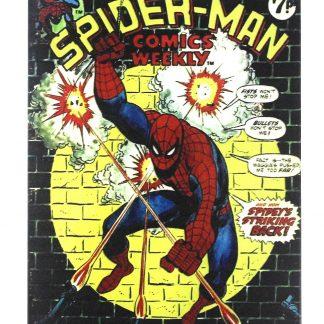 Marvel Spider-man comic tin metal sign 0221a Comics comic