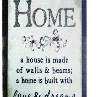 Home love dreams tin metal sign 0225a Metal Sign cheap home stuff
