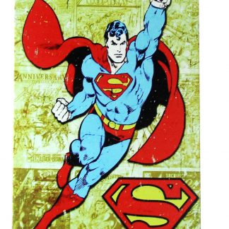 Superman Marvel comic tin metal sign 0232a Comics art posters