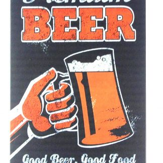Premium beer bar pub club tin metal sign 0233a Beer Wine Liquor bar