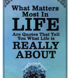what matters most in life tin metal sign 0246a Metal Sign back wall decoration