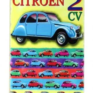CITROEN 2CV France car tin metal sign 0249a Metal Sign 2CV