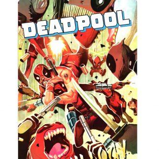 Deadpool Marvel Killogy vintage tin metal sign 0254a Comics bedroom design ideas