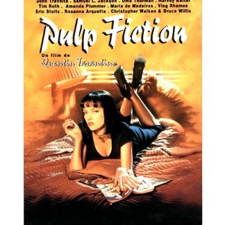 Pulp Fiction movie poster vintage metal sign 0256a Metal Sign advertising home kitchen wall art