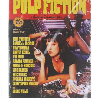 Pulp Fiction movie poster metal sign 0262a Metal Sign Fiction