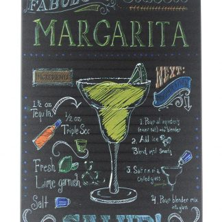 margarita salud drink plaque tin metal sign 0364a Beer Wine Liquor collectible wall decoration living room