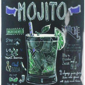 Classic Mojito tin metal sign 0393a Metal Sign Classic
