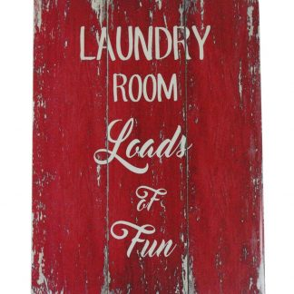 Laundry room loads of fun tin metal sign 0418a Metal Sign cheap wall prints