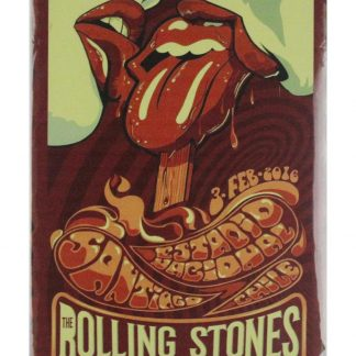 Rolling Stones rock n roll band tin metal sign 0608a Metal Sign band