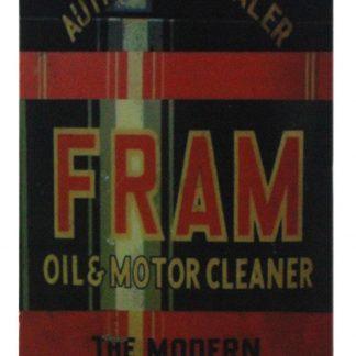 fram oil motor cleaner filter men cave tin metal sign 0689a Gas Oil Automotive bar wall decor