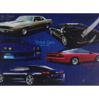 vintage cars automobile tin metal sign 0738a Gas Oil Automotive automobile